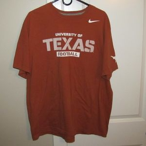 TEXAS LONGHORNS FOOTBALL Nike Men's SS T-Shirt XXL